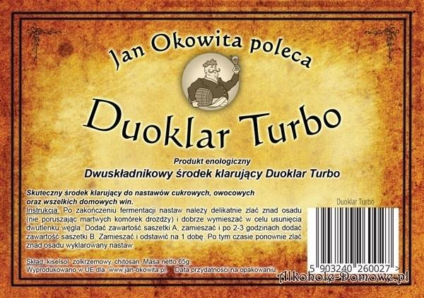 Duoklar Turbo - Jan Okowita