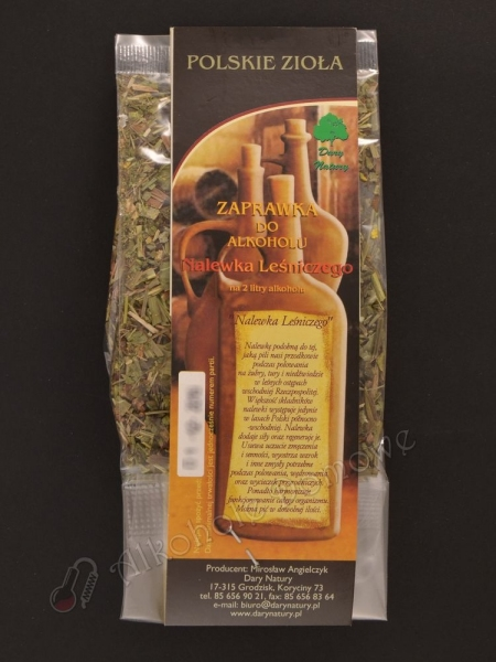 Zaprawka ziołowa - Nalewka Leśniczego