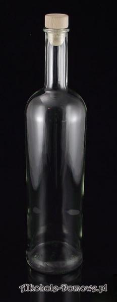 Butelka do nalewek Excelsior 1000 ml + korek