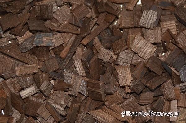 Aromatyzowane płatki dębowe 50 g - migdały + kakao