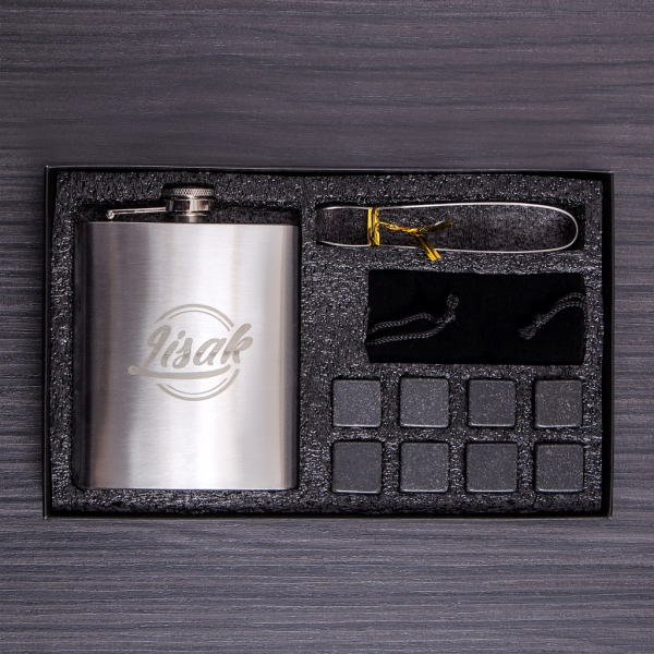 Zestaw prezentowy kamienie do whisky