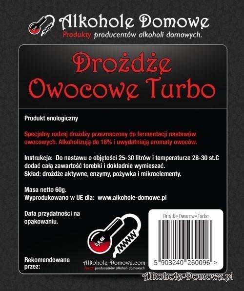 AD Drożdże Owocowe Turbo