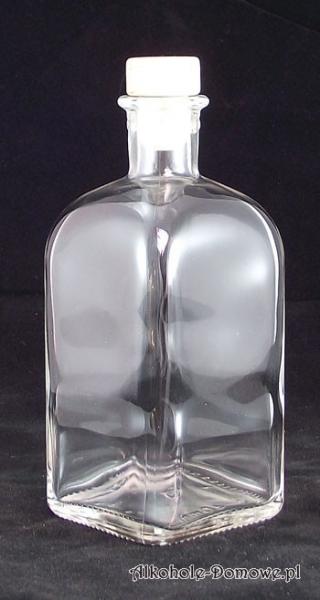 Butelka Apteczna Quadra 500 ml + korek