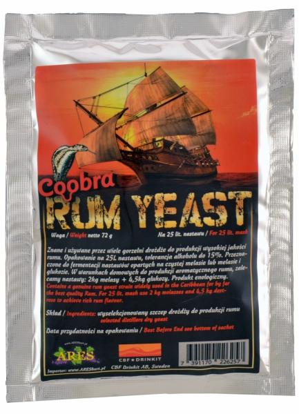 Drożdże do RUMU Coobra Rum Yeast