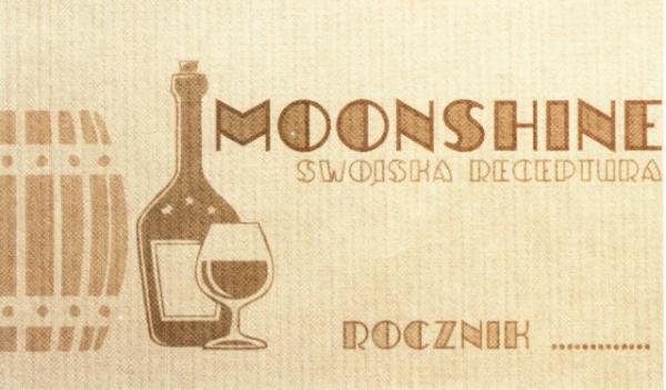 Etykieta 334 old moonshine 45x80