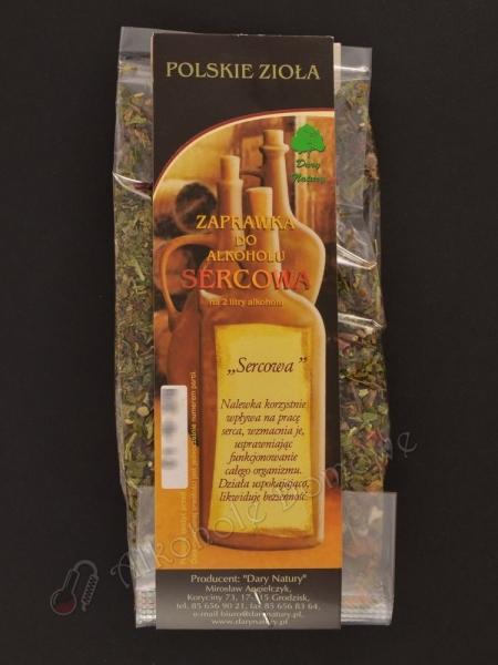 Zaprawka ziołowa - Sercowa