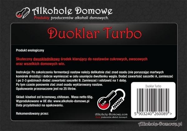 AD Duoklar Turbo- pakiet 10 sztuk